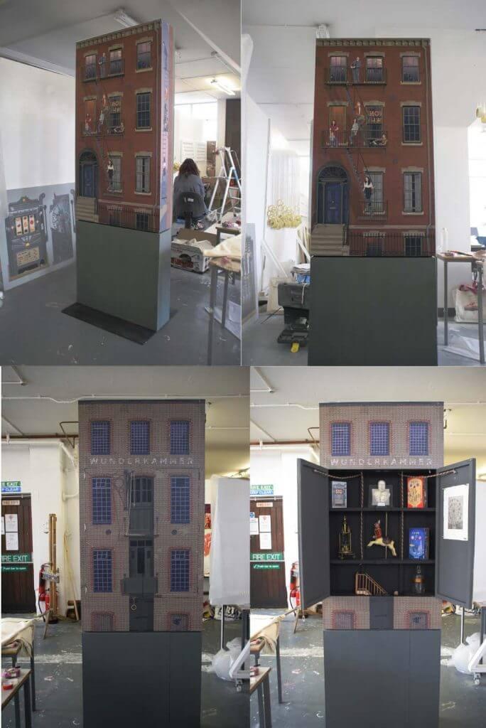 composite cabinet small