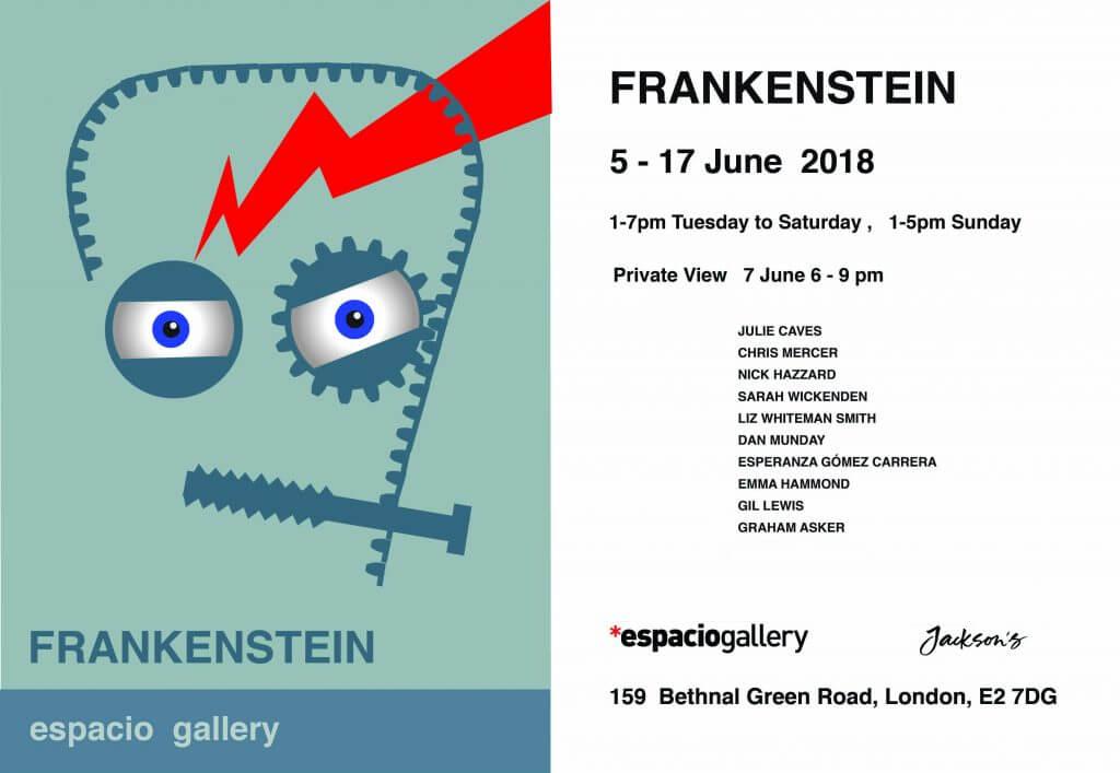 Frankenstein Invite Card