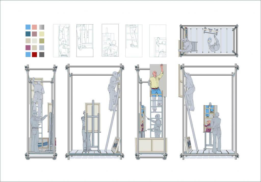 'scaffold'